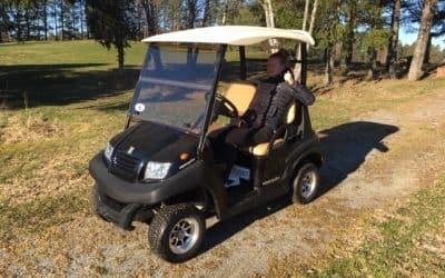 Nytt om golfbilar