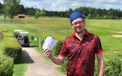 Längsta drive på green