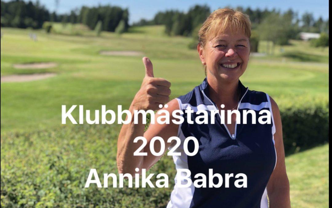 Klubbmästare 2020