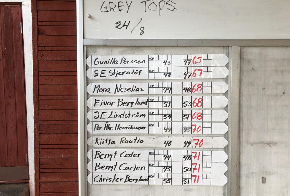 Grey Tops 8 färdigspelad 24/8