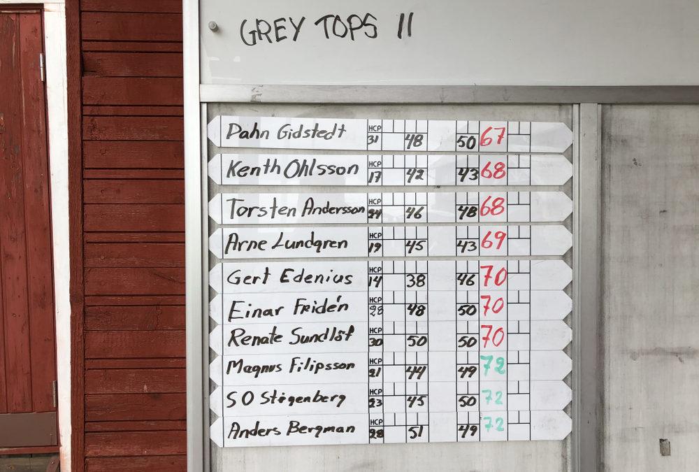 Grey Tops 11 färdigspelad 14/9